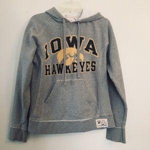 Iowa Hawkeyes hoodie sweatshirt. Size Small.